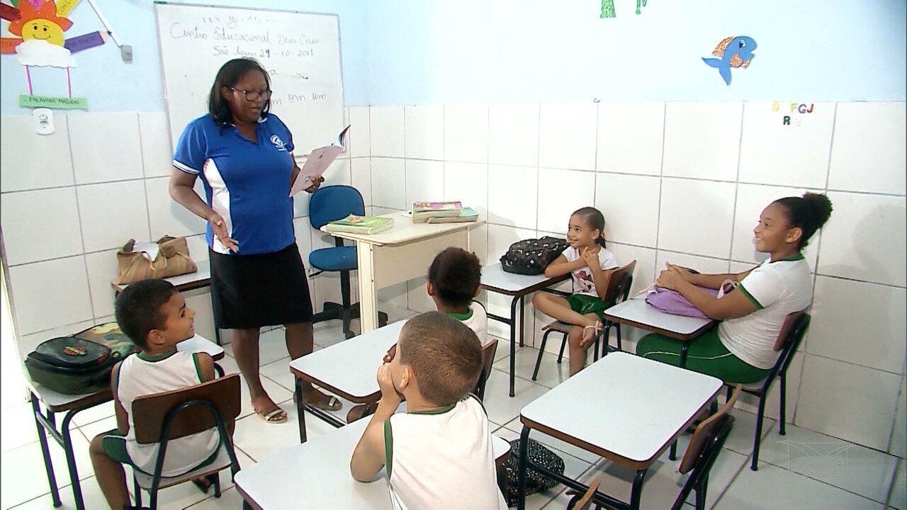 As crianças beneficiadas com ações de solidariedade em São Luís