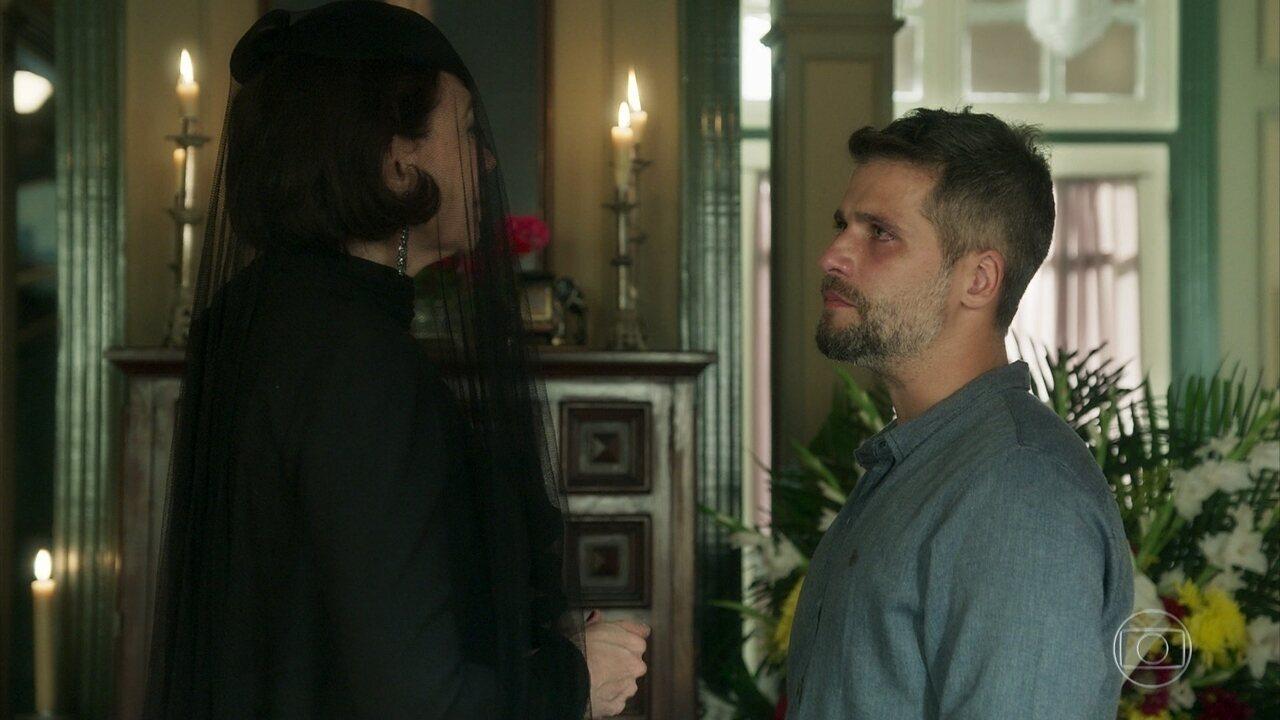 Gabriel confronta Valentina