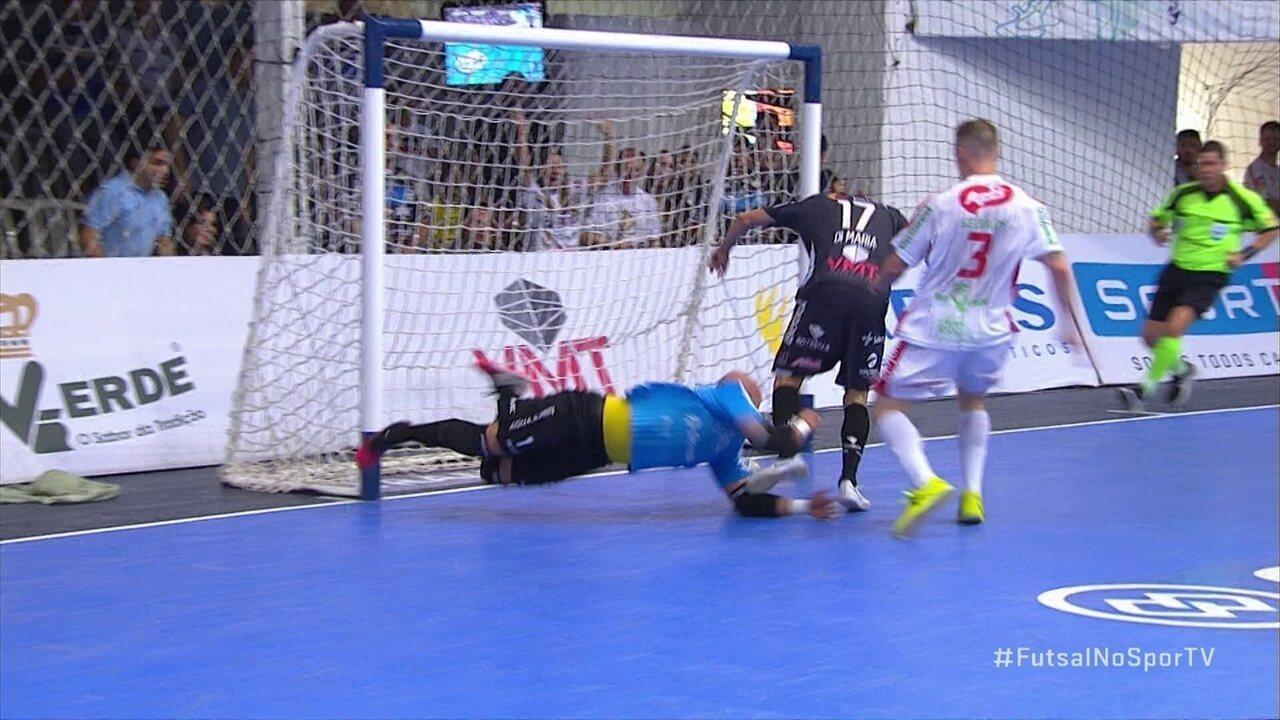 efbd2deec219b Os gols de Pato Futsal 6 x 0 Atlântico Erechim pela Liga Nacional de futsal