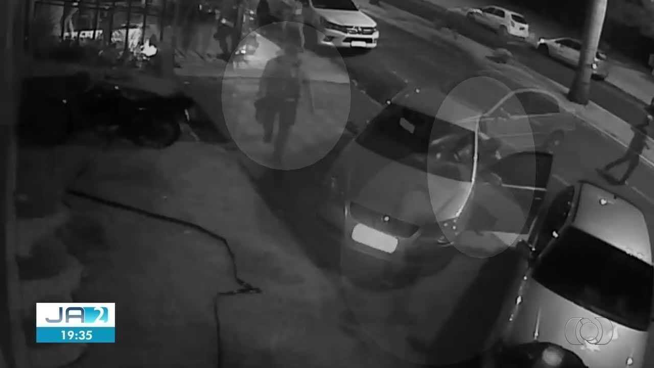 Cliente de bar tenta atropelar segurança após briga, em Itumbiara
