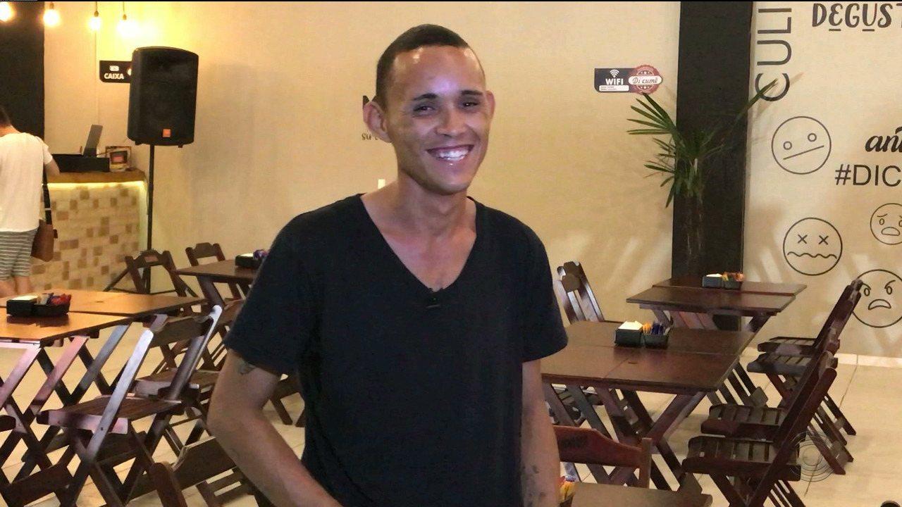 #tamojunto: Veja como está Caio um mês depois da história dele ter sido contada no JPB 1