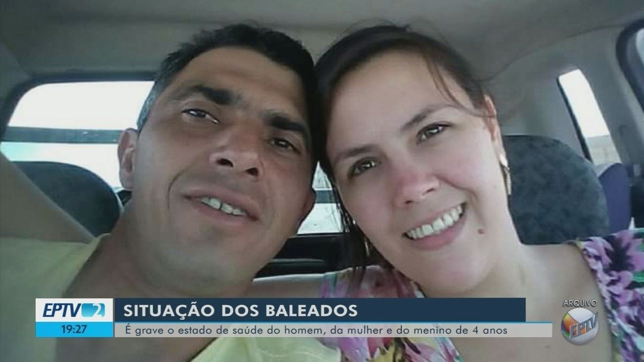 Mulher e filho baleados em Varginha continuam em estado grave; marido é principal suspeito