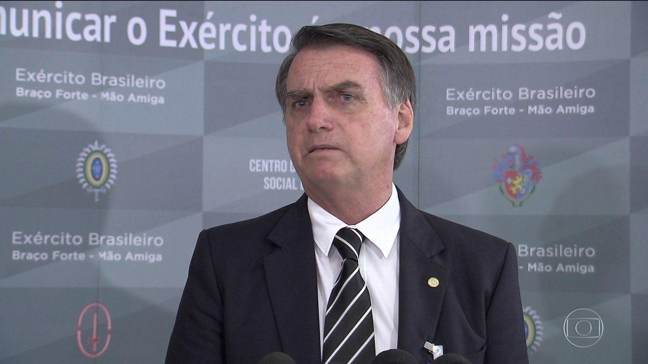 Previdência fatiada pode começar a ser votada no início de 2019, diz Bolsonaro