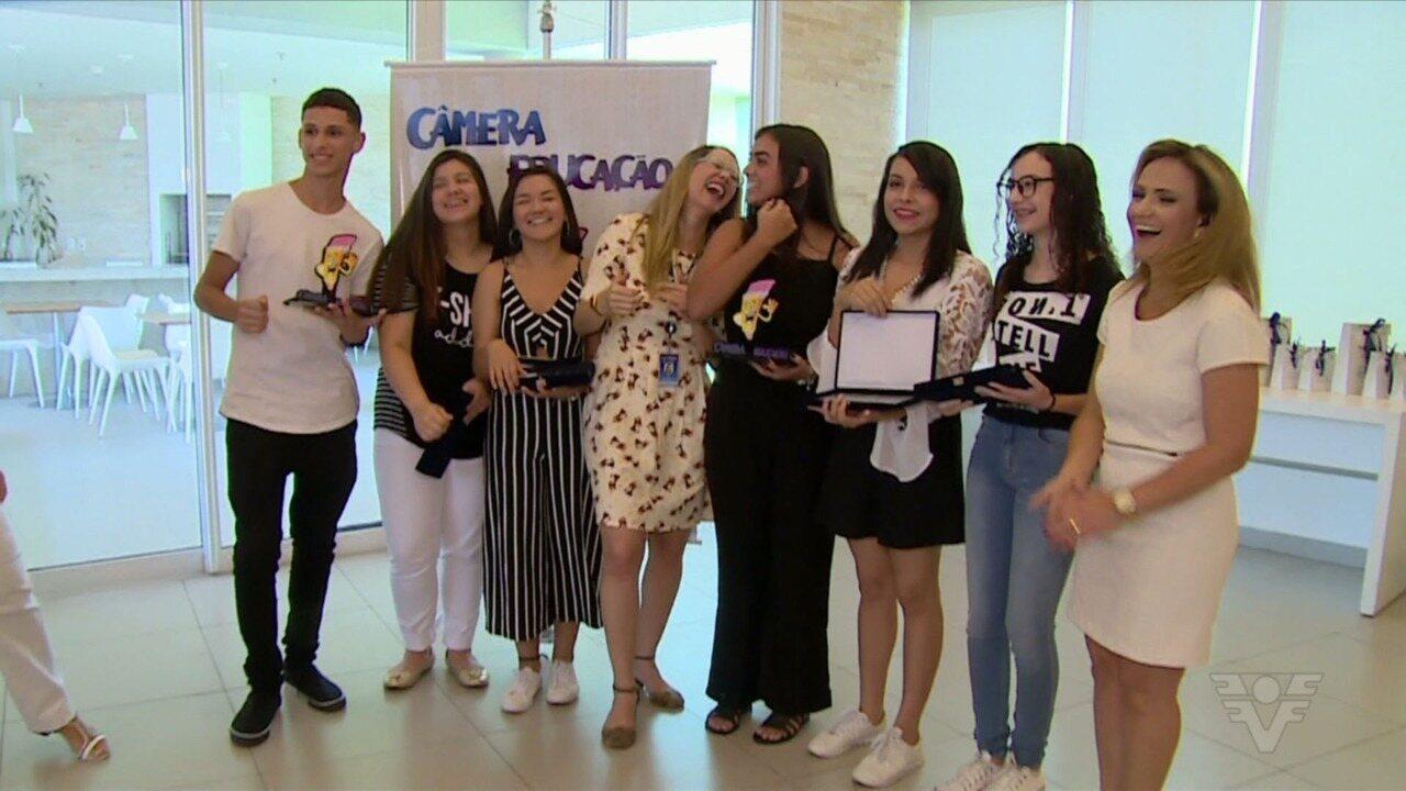 Câmera Educação faz festa para premiar vencedores
