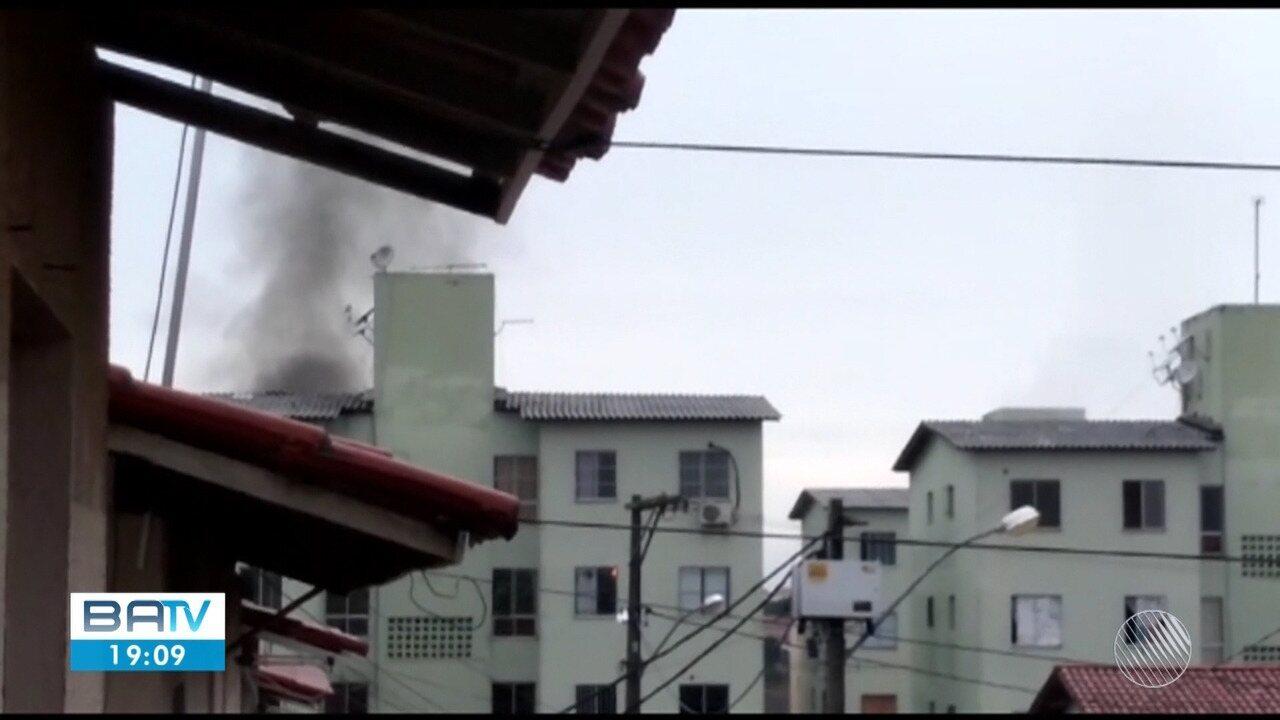 Morre mais uma vítima de incêndio em condomínio no bairro da Mangabeira