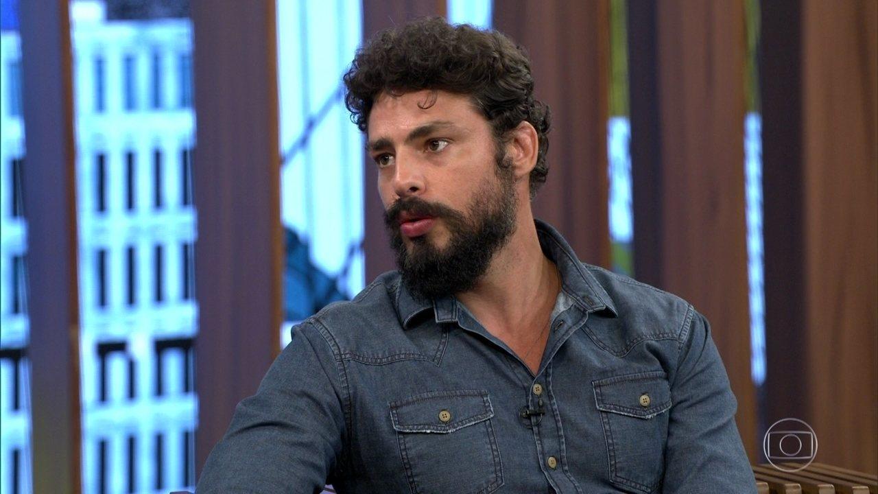 Cauã Reymond falou sobre a produção do filme sobre Dom Pedro l