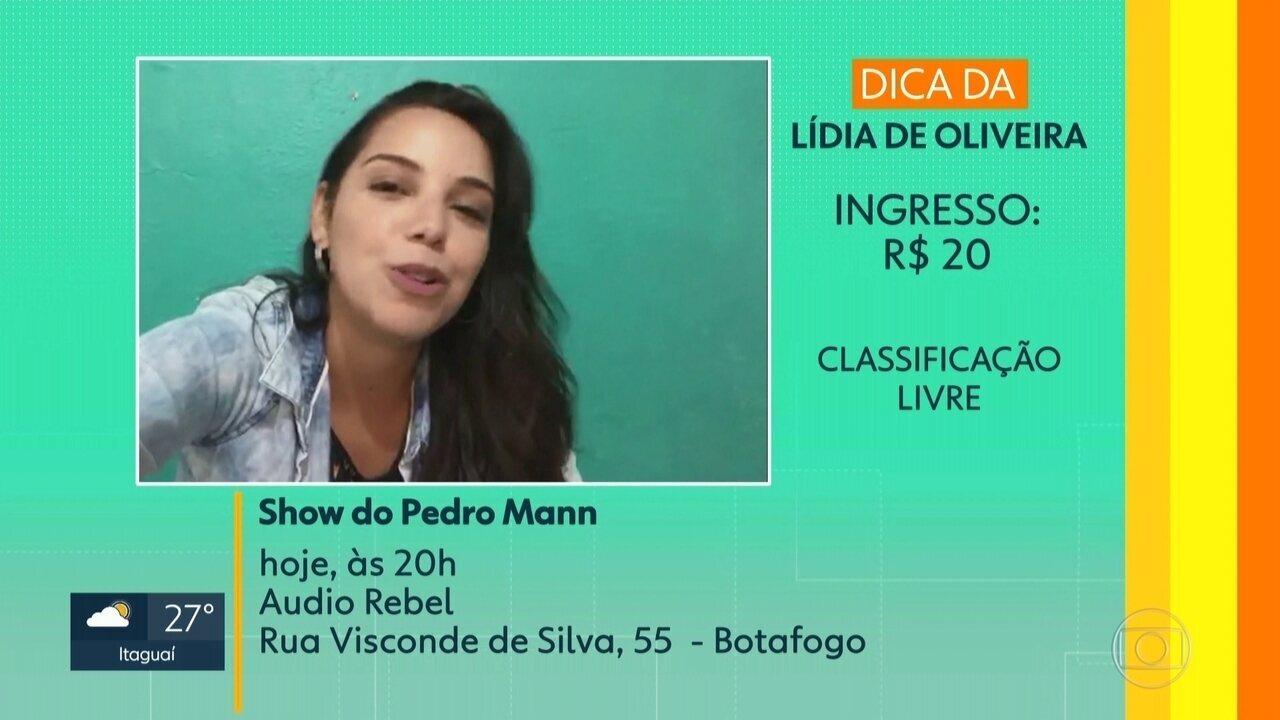 A dica da telespecatadora Lídia de Oliveira