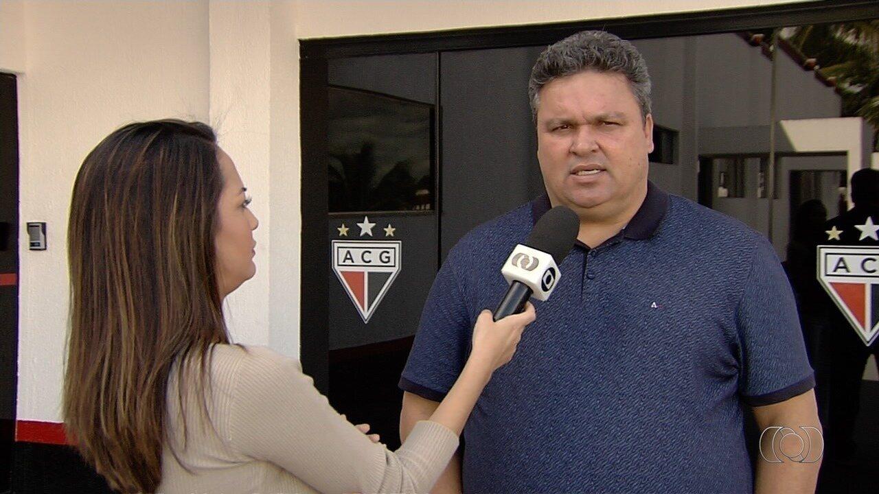 Próximo presidente do Atlético-GO, Adson Batista comenta futuro do clube