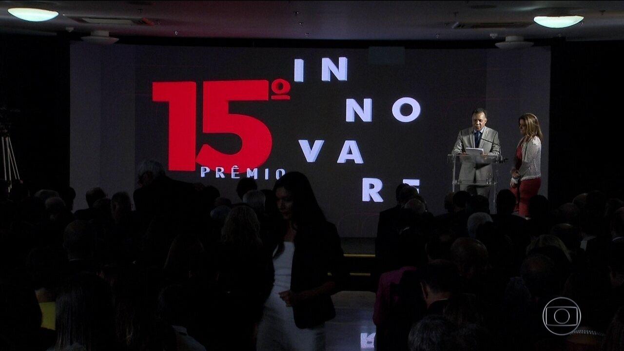 O Prêmio Innovare anunciou hoje vencedores da 15º edição
