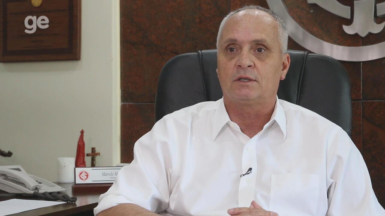 Candidato a reeleição do Inter, Marcelo Medeiros fala sobre contratações para 2019