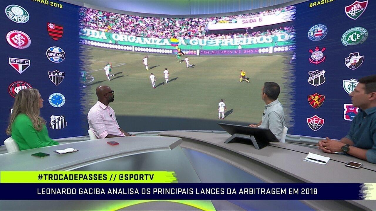 Leonardo Gaciba analisa os principais lances da arbitragem do Brasileirão em 2018