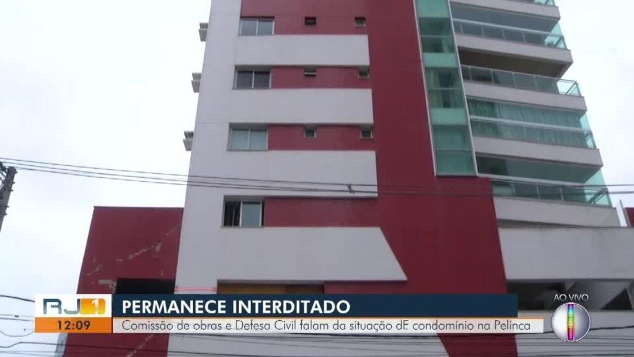 Comissão de obras e Defesa Civil falam da situação do condomínio na Pelinca