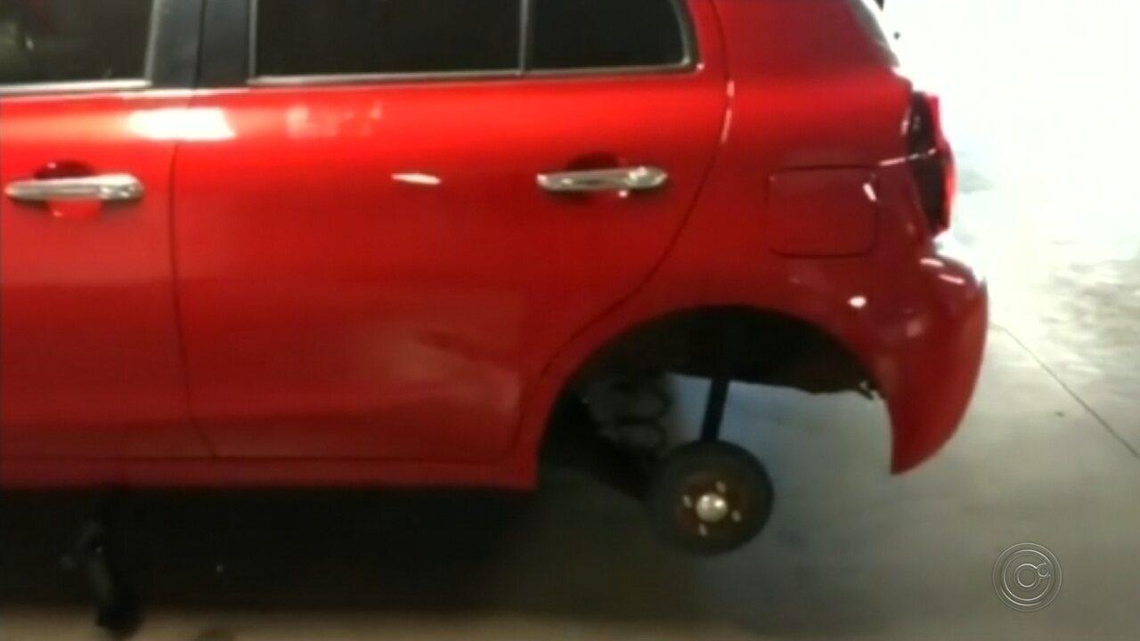 Polícia de Bauru vê ação de quadrilha após roubos em série de rodas de carros