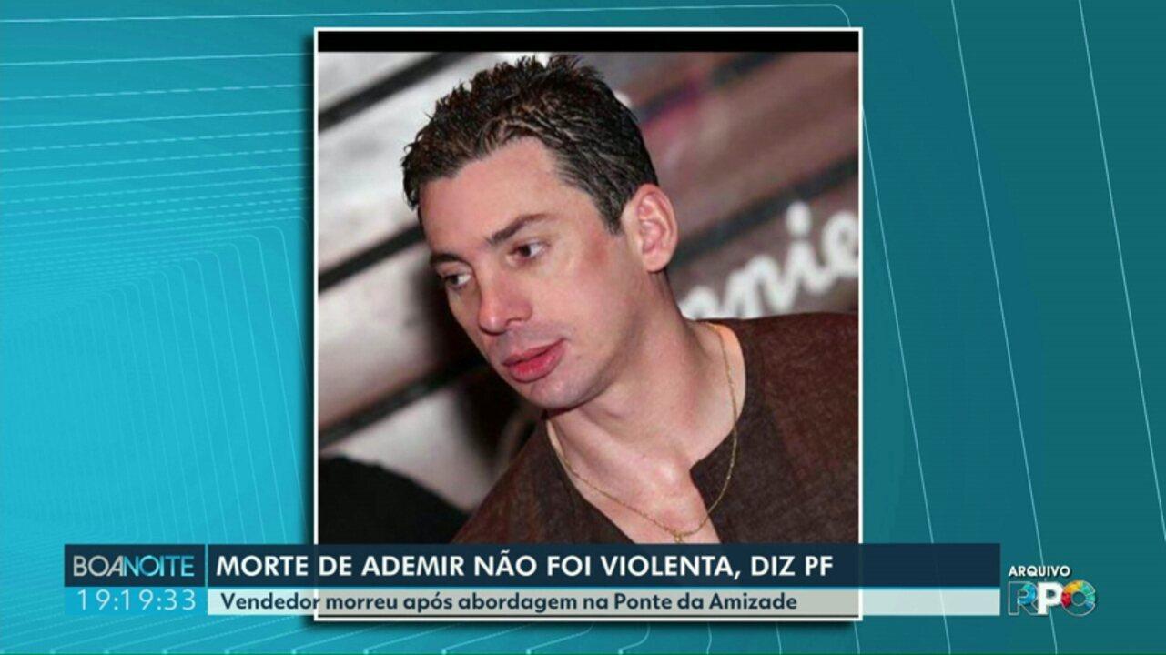 PF concluiu investigação sobre a morte do vendedor Ademir Gonçalves