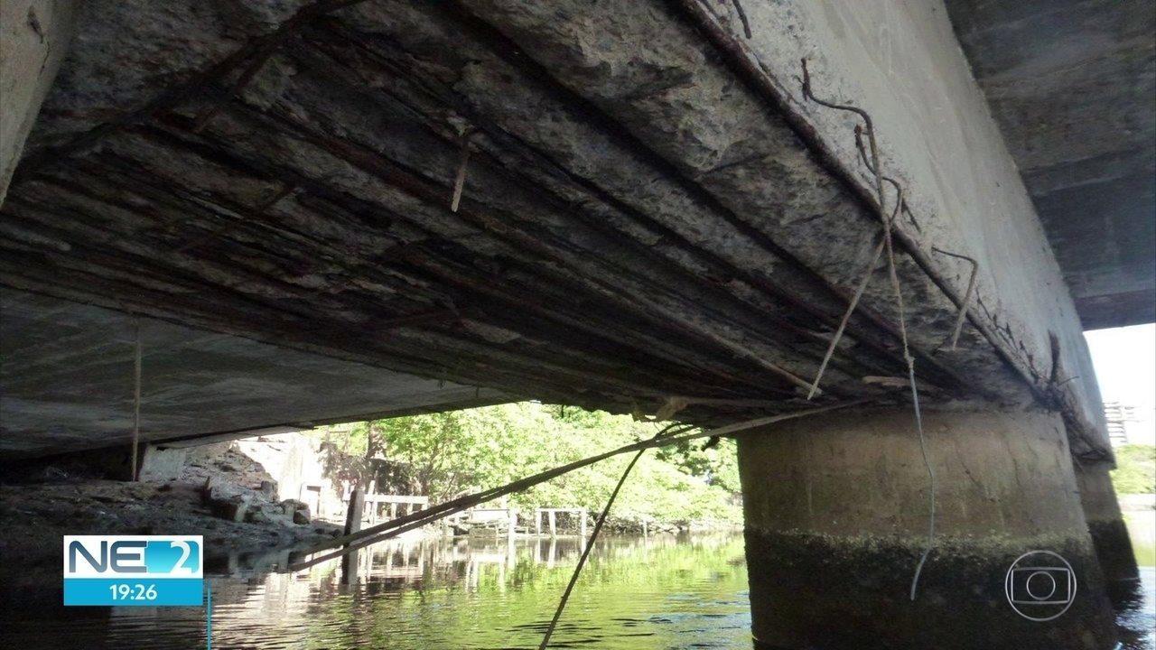 Prefeitura anuncia recuperação de pontes no Recife