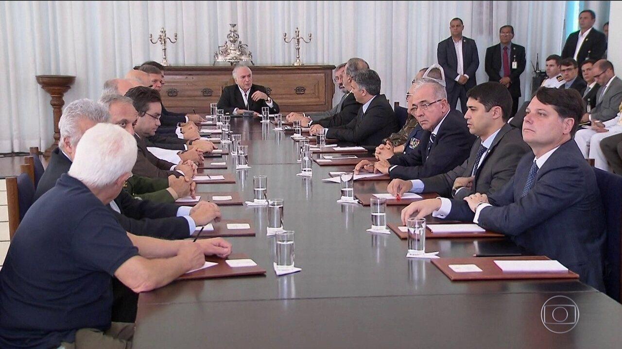 Intervenção federal em Roraima começa na segunda-feira (10)