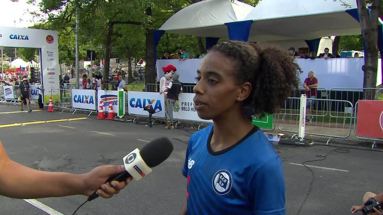 Jenifer Silva, quarta colocada, fala de estreia em provas de longa distância