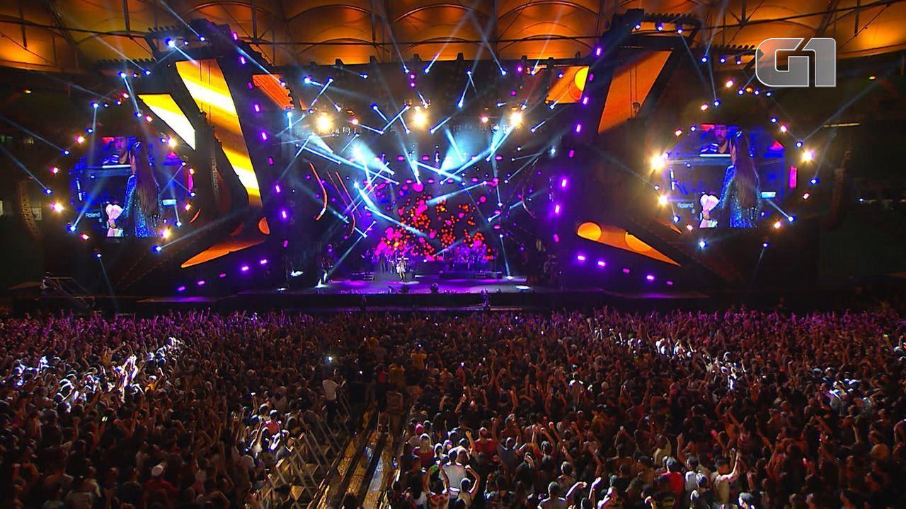 Veja os melhores momentos de Ivete Sangalo no Festival de Verão