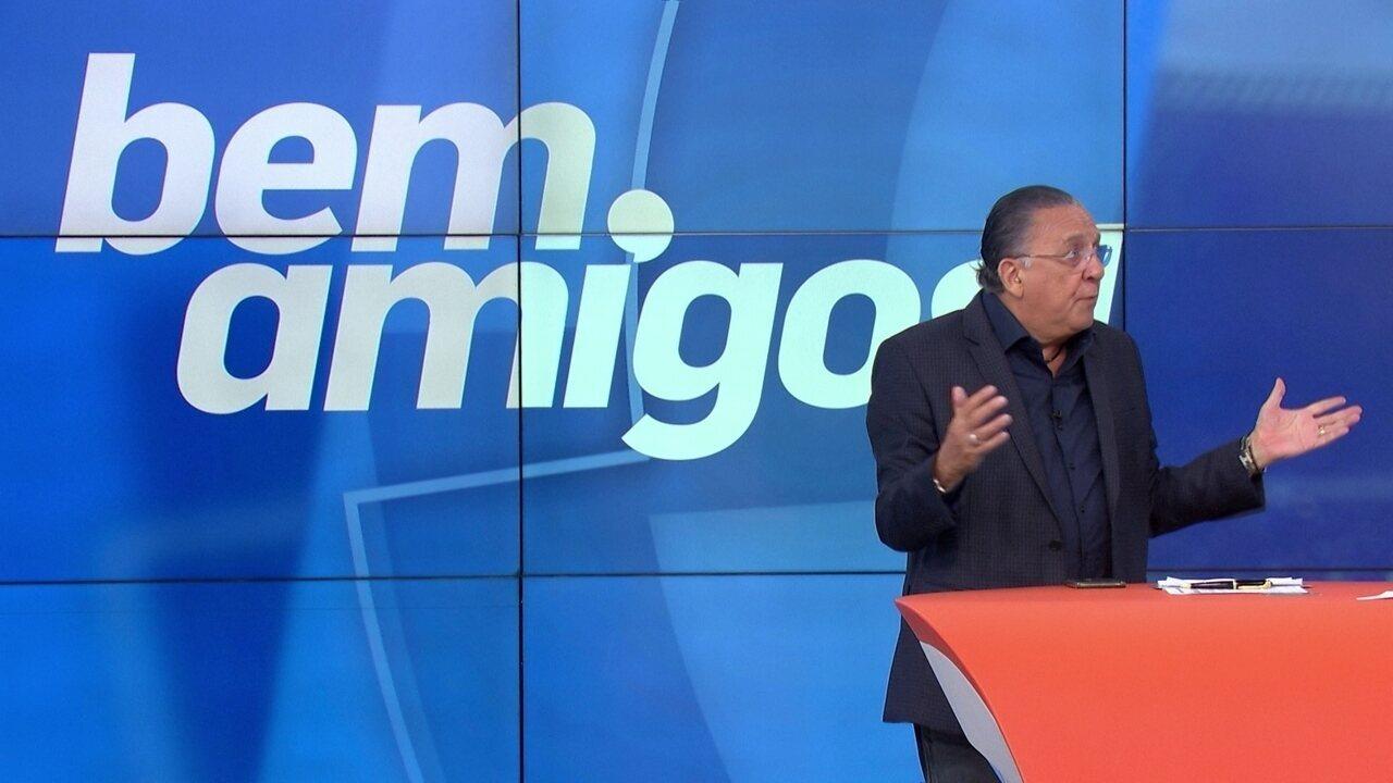 Galvão Bueno faz críticas a Tite: