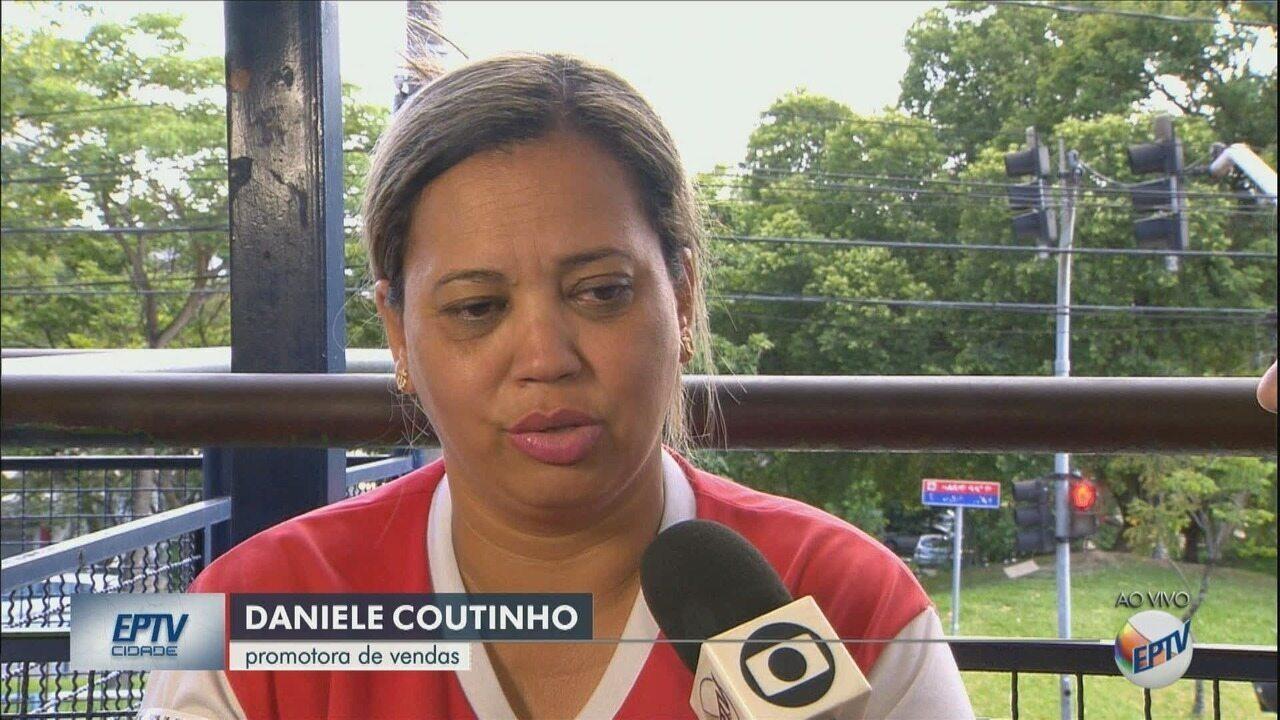 Mulher estava dentro da Catedral de Campinas no momento do tiroteio e conta desespero