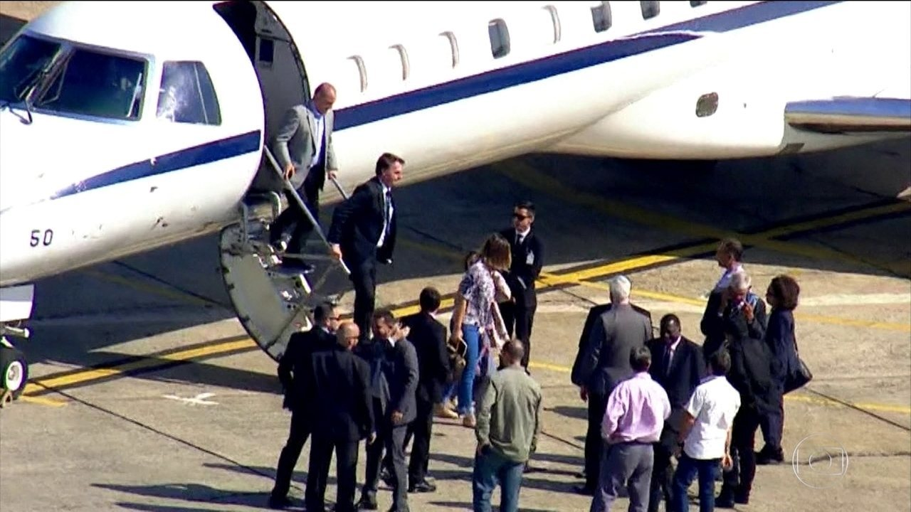 Jair Bolsonaro viaja a São Paulo para consulta médica