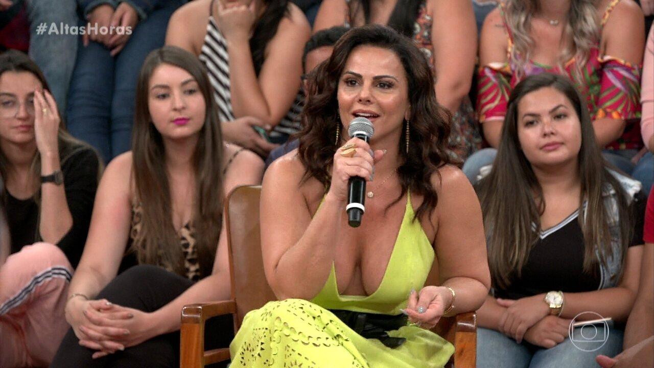 Viviane Araújo diz que foi escolhida pelas escolas de samba