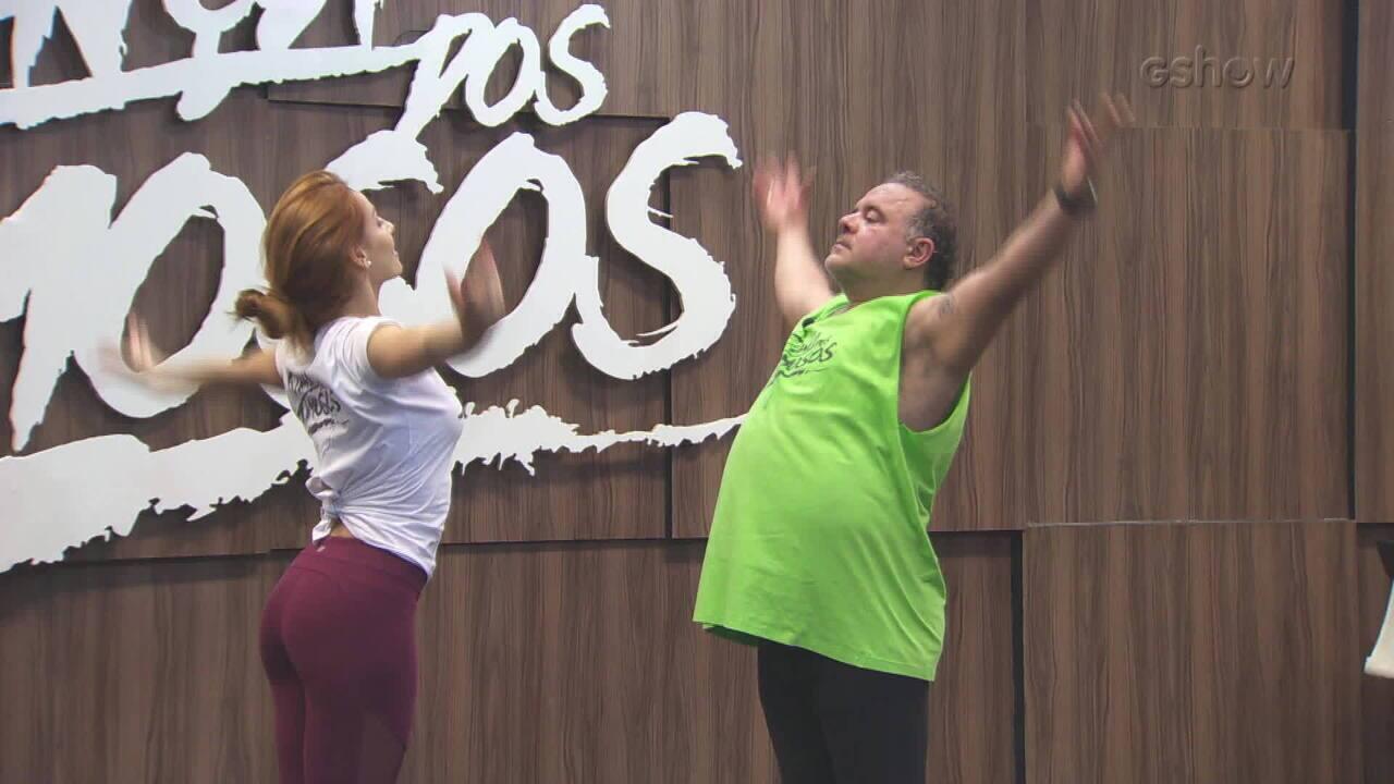Confira ensaio do Leo Jaime para final do 'Dança dos Famosos'