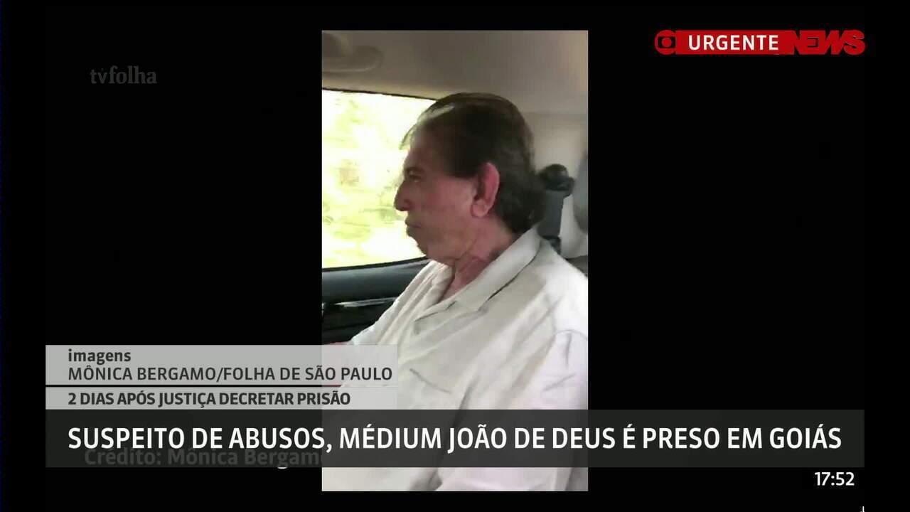 João de Deus é preso no interior de Goiás
