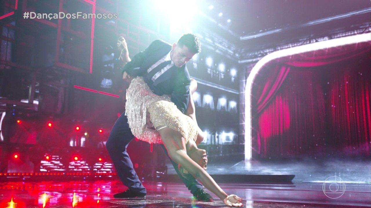 Erika Januza e Elias Ustariz se apresentam no Tango