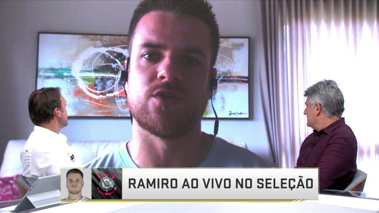 b0e7040f41 Ramiro explica saída do Grêmio e acerto com o Corinthians
