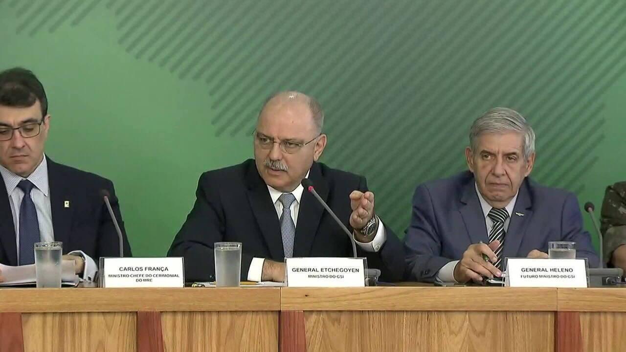 Veja o esquema de segurança para a posse de Jair Bolsonaro