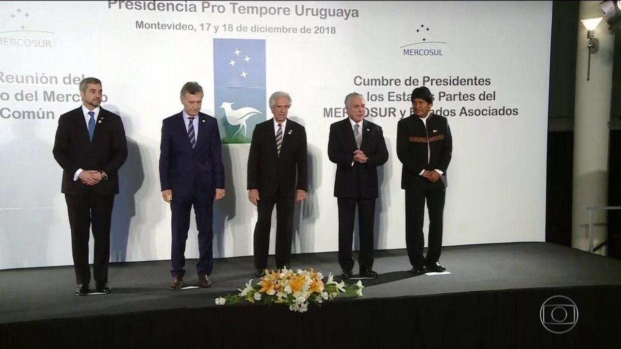 Na cúpula do Mercosul, Macri diz que Venezuela é uma ditadura