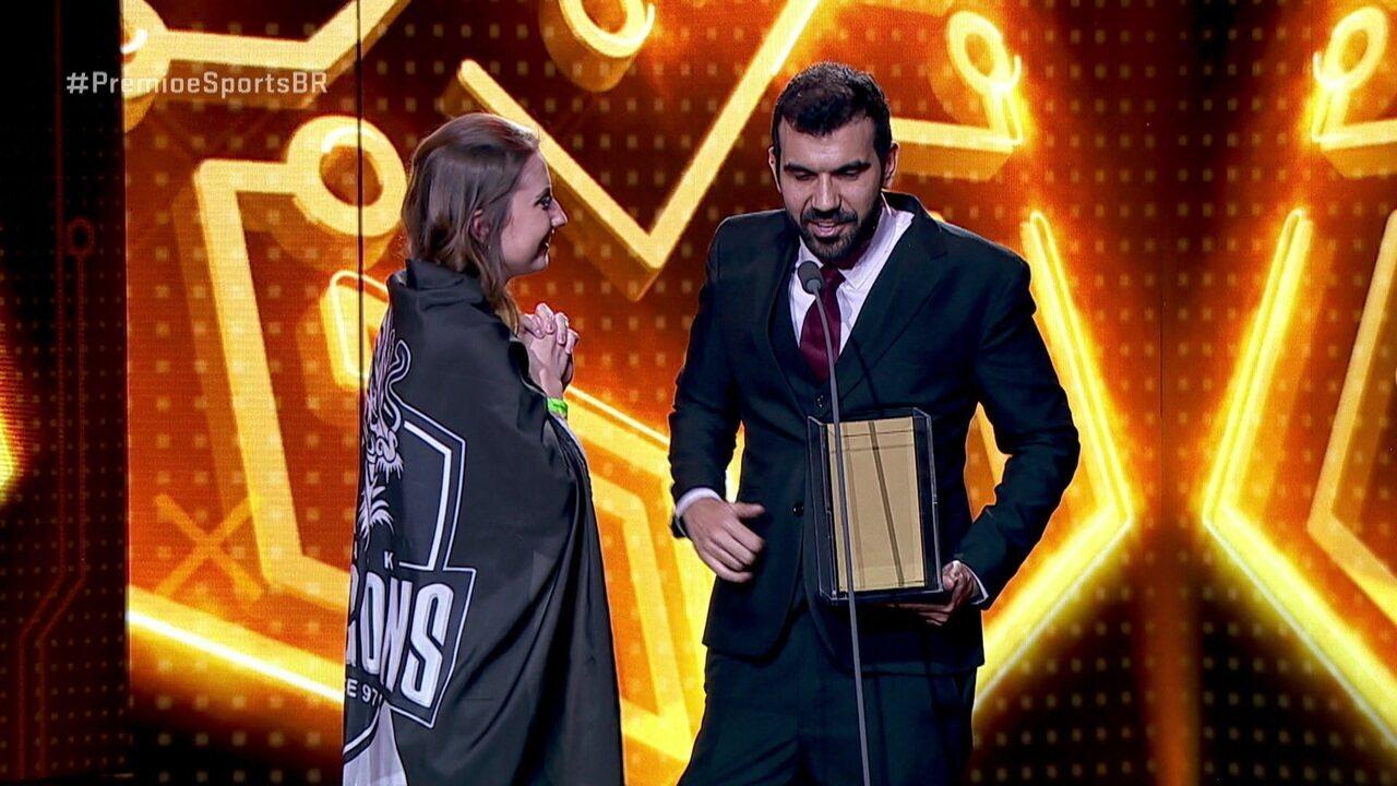 Black Dragons ganha como melhor organização do ano no Prêmio e-Sports Brasil de 2018