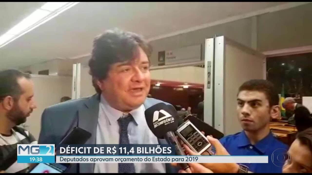 Deputados estaduais aprovam orçamento de Minas para 2019