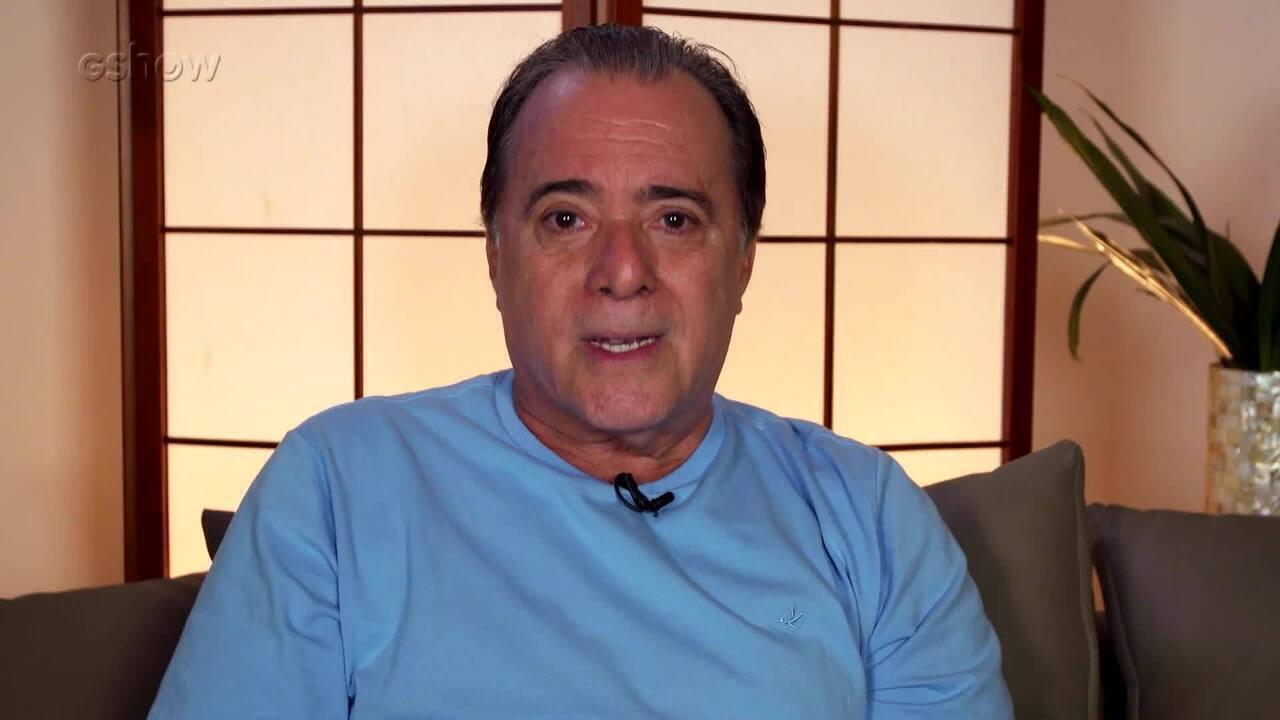 Tony Ramos relembra amizade com Mário Lago