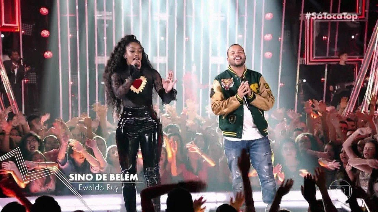 Iza e Projota cantam 'Sino de Belém' no SoTocaTop
