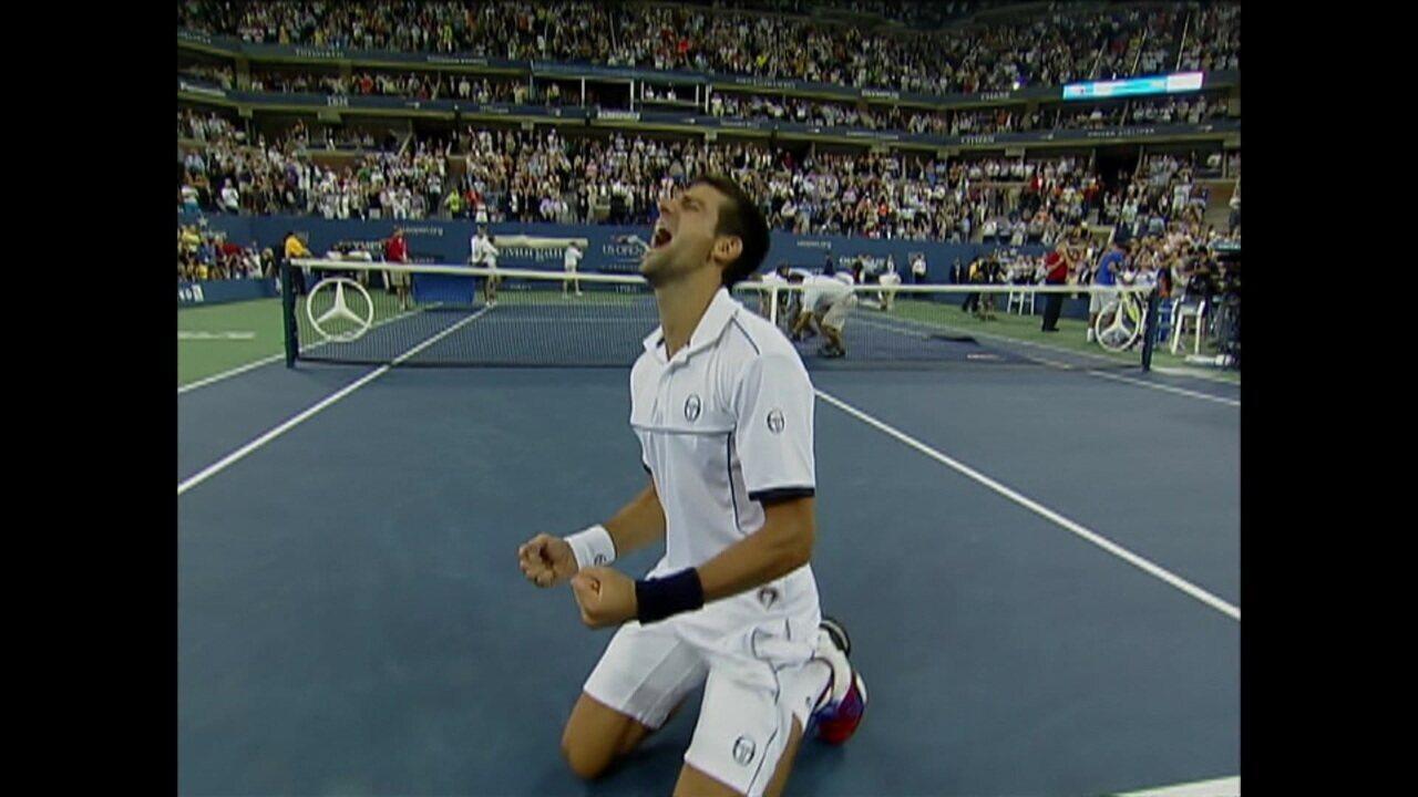 2407edf3e84 Novak Djokovic sobe mais de vinte posições em um ano e fala sobre a sua  volta