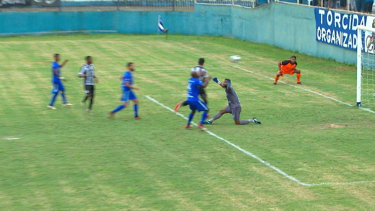 9e5cc56c90 Os gols de Goytacaz 1 x 1 Americano pela 2ª rodada do Campeonato Carioca