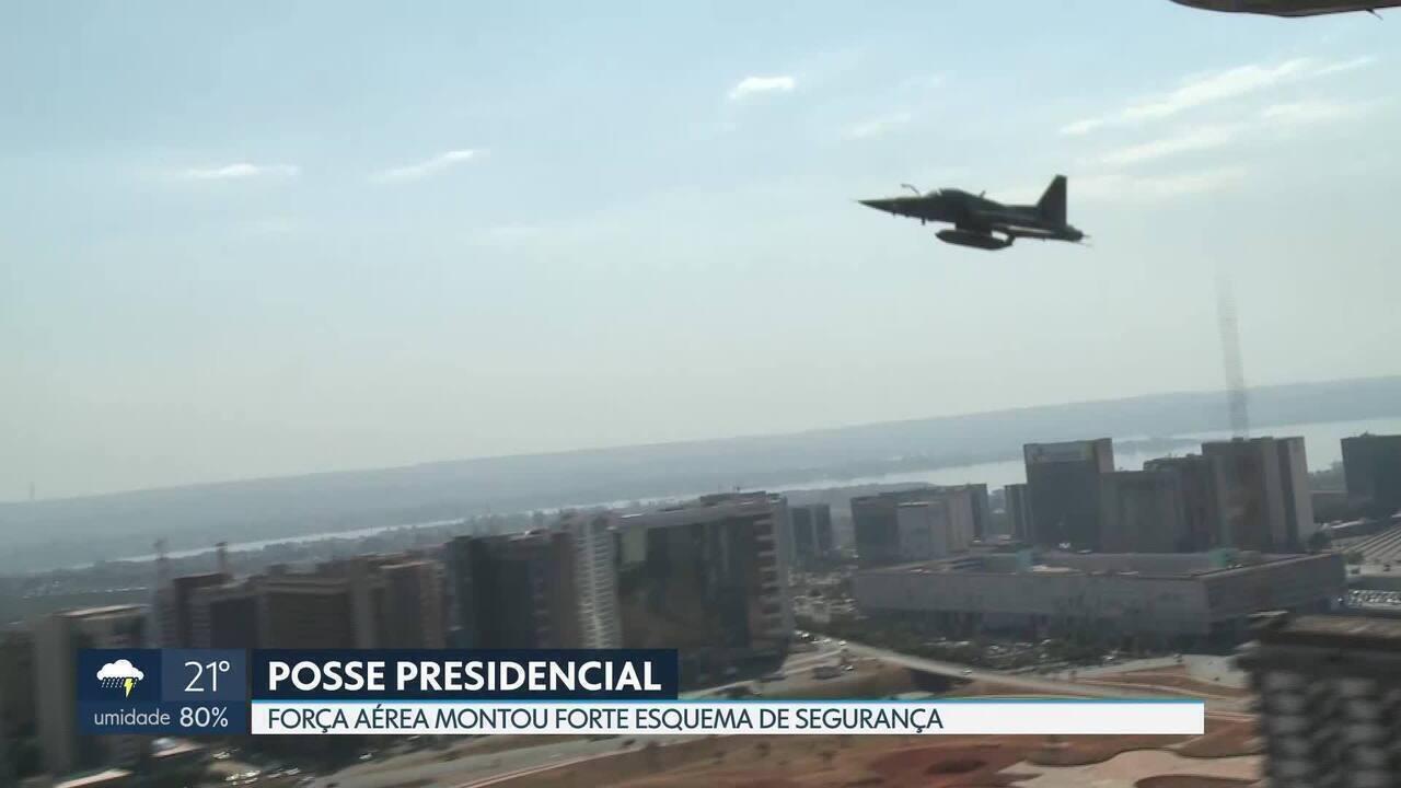 Força Aérea Brasileira organiza forte esquema de segurança para a posse presidencial