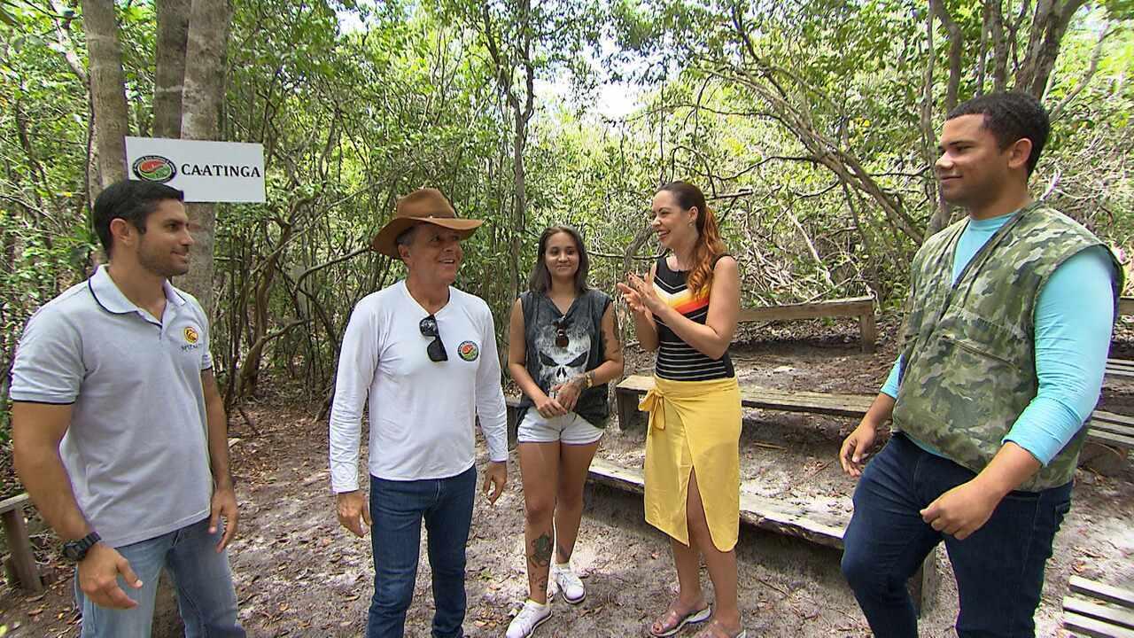 No último episódio de 'Reconecte-se', telespectadora visita o maior parque urbano de dunas