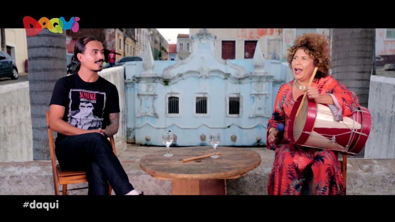 Rita Benneditto fala sobre sua carreira no Daqui