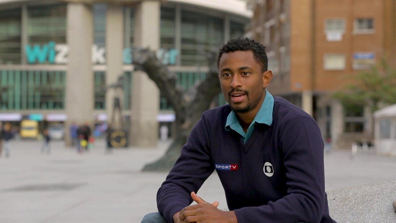 Diego San: Repórter mostra como foi a cobertura do Mundial de karatê em Madrid
