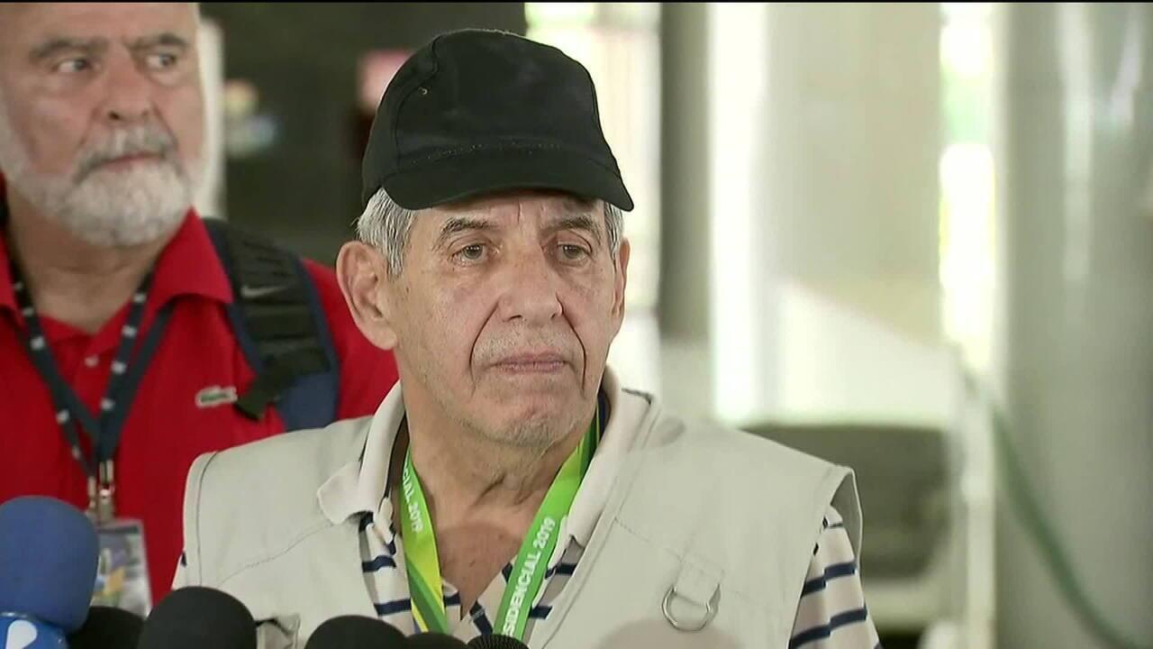 General Augusto Heleno comparou na entrevista posse de arma à de carro