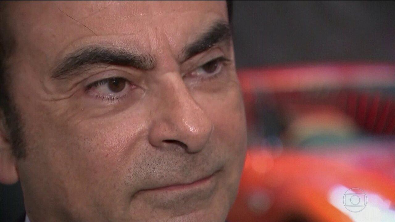 Tribunal de Tóquio prorroga prisão do brasileiro Carlos Ghosn