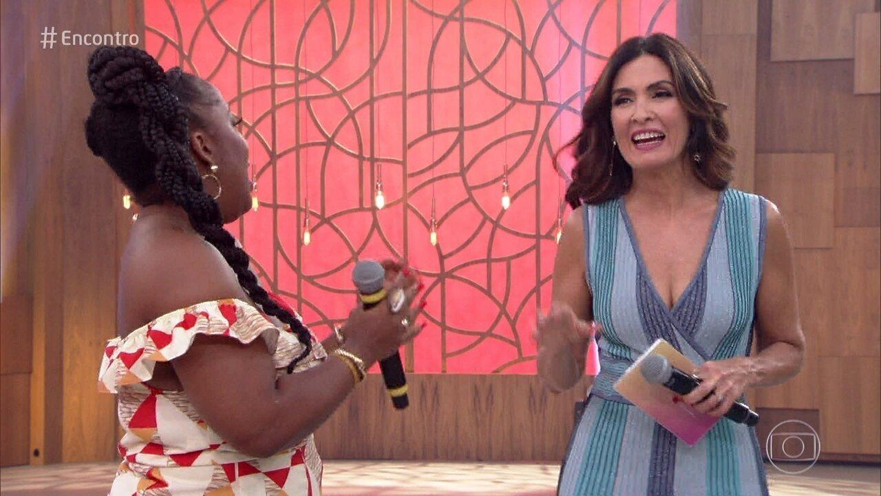 Fernanda Souza diz que Fátima Bernardes foi exemplo em 2018 e deixou apresentadora envergonhada; assista ao vídeo!