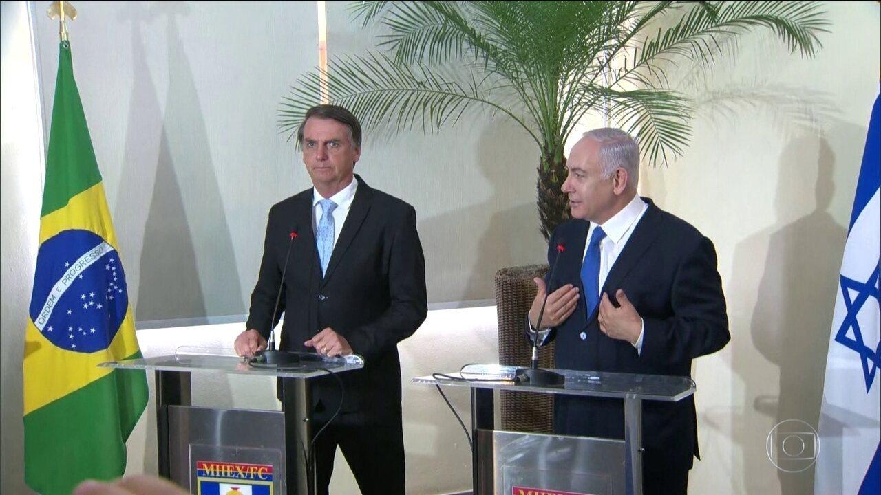 Brasília se prepara para a posse de Jair Bolsonaro
