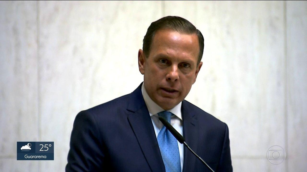 Novo governador promete combater o desperdício de dinheiro público
