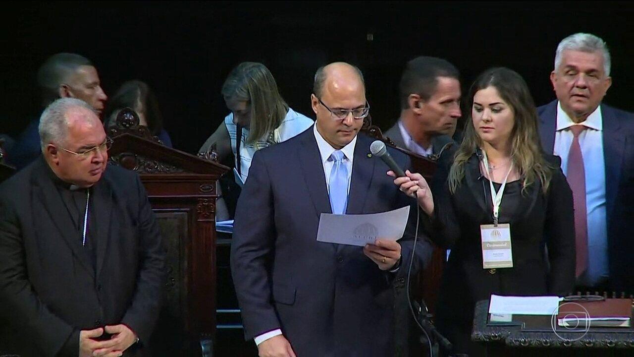 Governadores do Rio e do Espírito Santo tomam posse nesta terça-feira (1º)