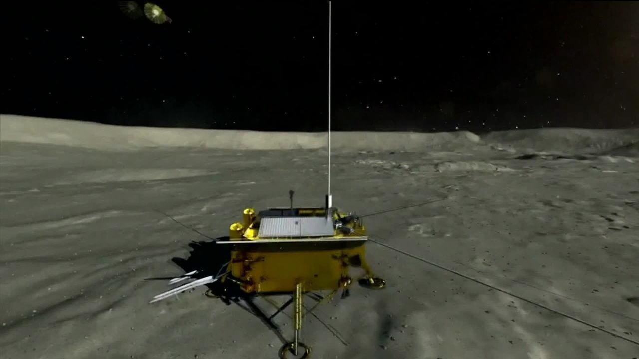 Sonda chinesa pousa com sucesso no lado oculto da lua