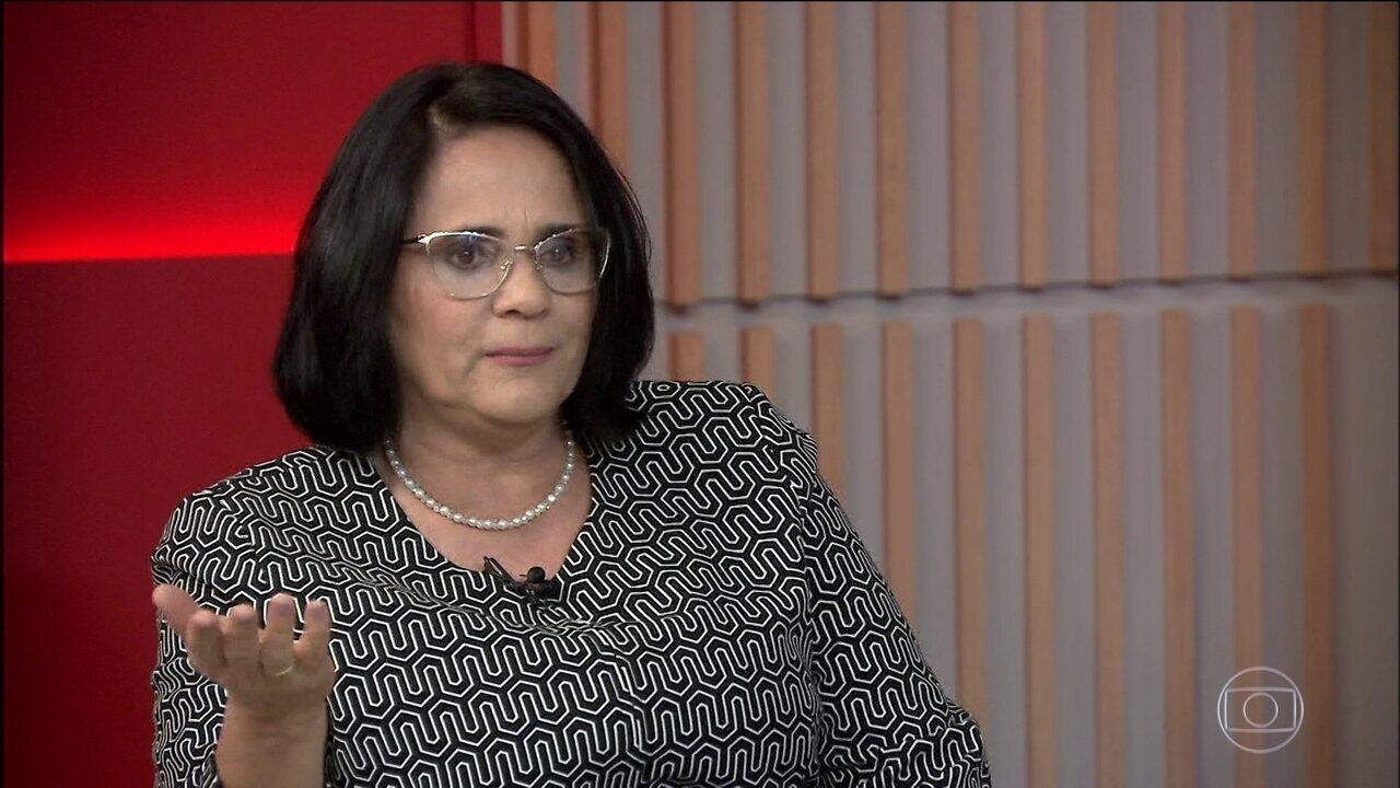 Fala da ministra Damares Alves provoca grande repercussão